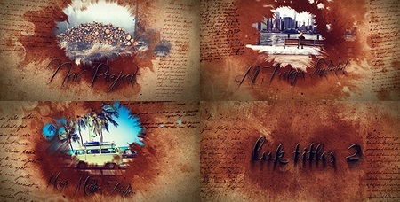 Ink Titles 2 7569279 After Effects Template Download Videohive