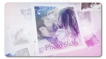 Inked Flying Photo Slides 22403101 After Effects Template Download