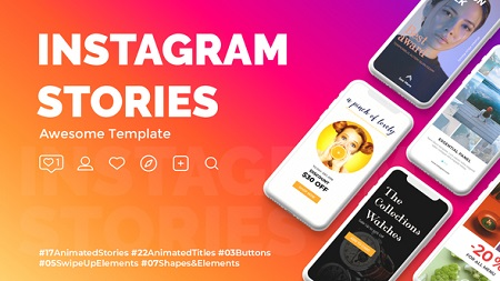Instagram Stories 22835374 After Effects Template Download Videohive
