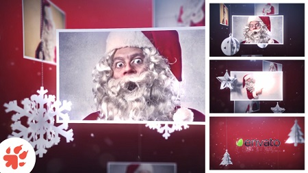 Magic Christmas Slideshow 13699179 After Effects Template Download