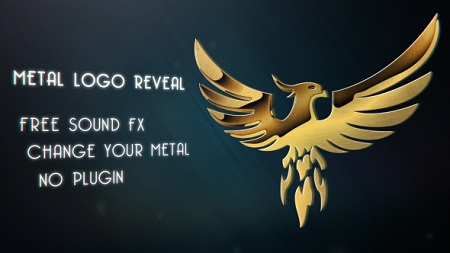 Metal Logo Reveal 18085423 After Effects Template Download Videohive