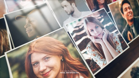 Mosaic Photo Reveal 22190811 After Effects Template Download