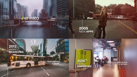 Parallax Timeline 20175249 After Effects Template Download Videohive