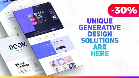 Premium Website Presentation Agency Promo Product Showcase