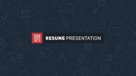 Resume Presentation 15929594 After Effects Template Download