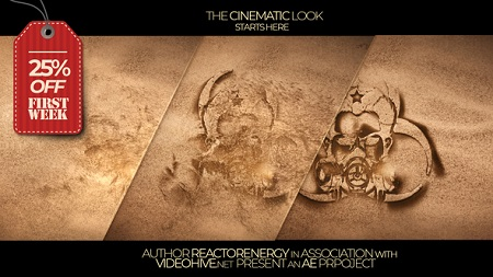 Sand Logo Opener 22847322 After Effects Template Download Videohive