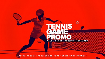 Tennis Game Promo 22811902 After Effects Template Download Videohive