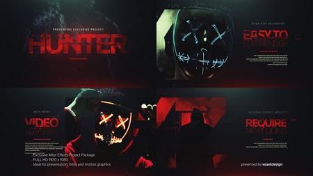 The Hunter Opener 22703764 After Effects Template Download Videohive