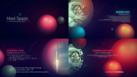 The Meet Spaze Opener 22602925 After Effects Template Download
