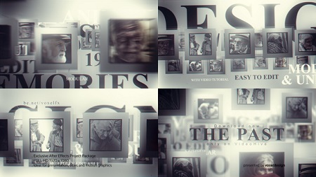 The Past Memories Opener 22735121 After Effects Template Download