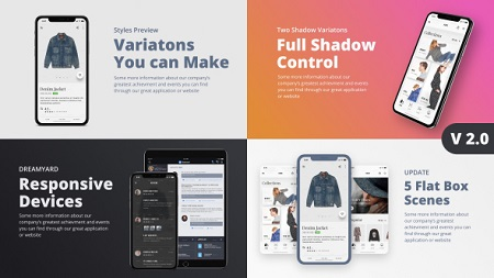 TheX - App Presentation Kit 21365745 After Effects Template Download
