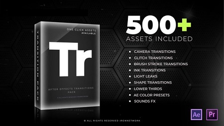 Transitions V2 21637768 After Effects Template Download Videohive
