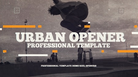 Urban Promo 19653281 After Effects Template Download Videohive