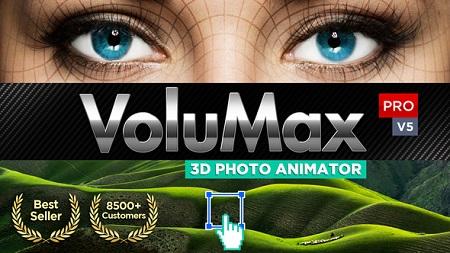 VoluMax 3D Photo Animator V5.2 13646883 (Updated 10 September 18)