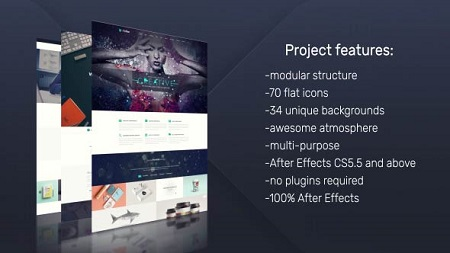 Website Presentation Pack 19455781 After Effects Template Download