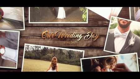 Wedding Gold Slideshow 20175077 After Effects Template Download