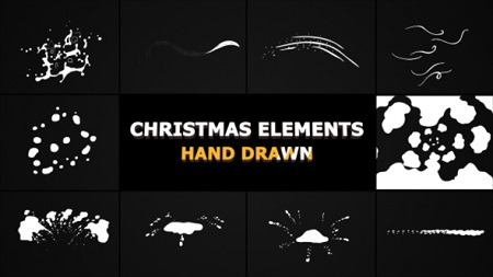 Winter Snow Elements 22856781 After Effects Template Download