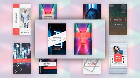 MotionArray - Instagram Stories Pack V.3 After Effects Templates 150361