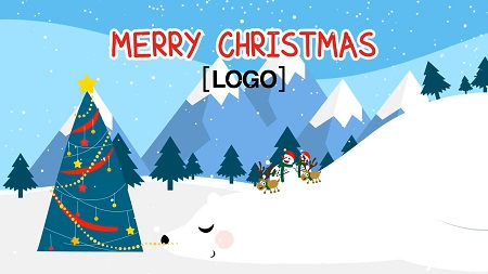MotionArray - Neo Greeting Snowman After Effects Templates 151898