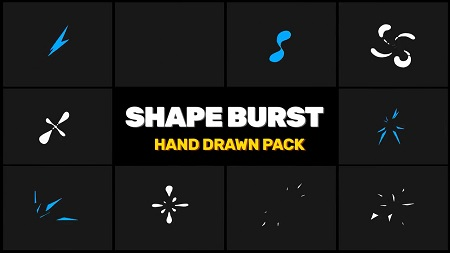 MotionArray Shape Burst Pack After Effects Templates 155241