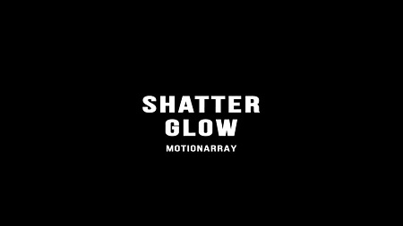 MotionArray Shatter Glow Logo After Effects Templates 154761