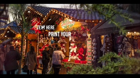 MotionArray - Xmas New Year Slideshow After Effects Templates 151298
