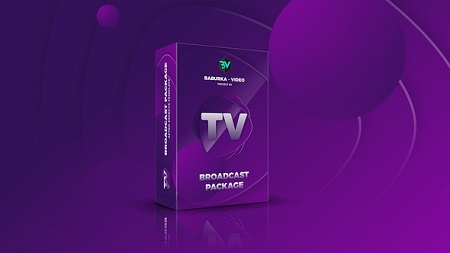 Broadcast Package Colored TV 22499025 After Effect Template Download