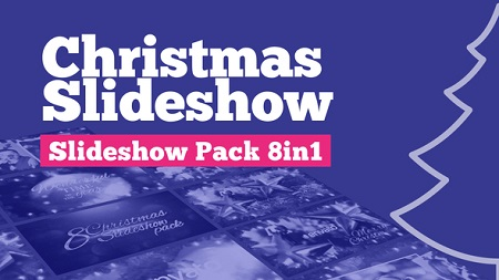 Christmas Slideshow Pack 8in1 22878599 After Effects Template