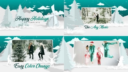 Christmas White 22747607 After Effects Template Download Videohive