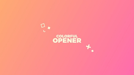 Colorful Opener 22120833 After Effects Template Download Videohive