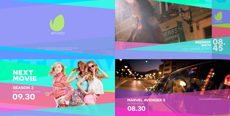Colorfull Broadcast Pack 19523796 After Effects Templates
