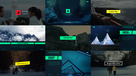 Corporate Slides and Titles 21197134 After Effects Template Download