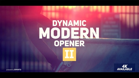 Dynamic Modern Opener II 19553339 After Effects Template Download
