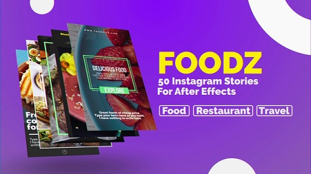 Foodz Instagram Stories 22955557 After Effects Template Download
