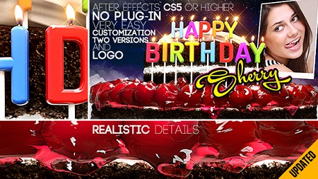 Happy Birthday All Languages 13100304 After Effects Template Download