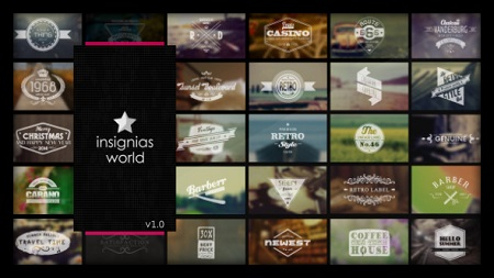 Insignias World 6837836 After Effects Template Download Videohive