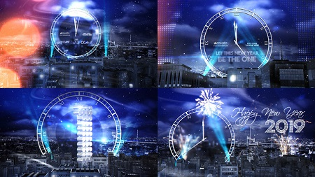 New Year Eve Countdown 2019 6211072 After Effects Template Download
