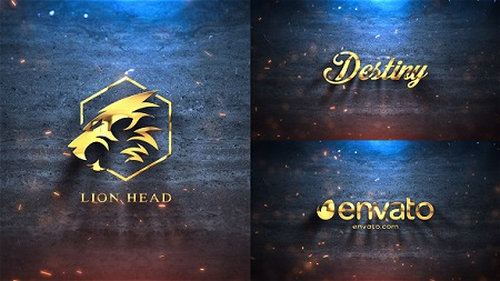 Silver Gold Logo Reveal 21422987 After Effects Template Download