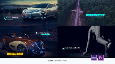 Sport Call-Out Titles 22525746 After Effects Template Download Videohive