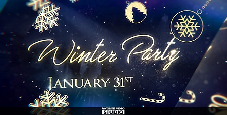 Winter After Party 19250485 After Effects Template Download Videohive