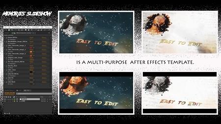 MotionArray Memories Slideshow After Effects Templates 156117