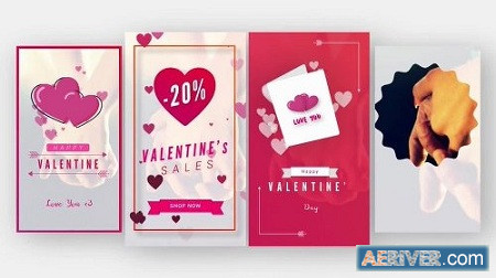 MotionArray Valentine Animated Stories 159493 After Effects