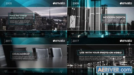 Corporate Timeline 19455590 After Effects Project Download Videohive
