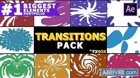 Videohive Dynamic Liquid Transitions Pack 23152984 After Effects Project