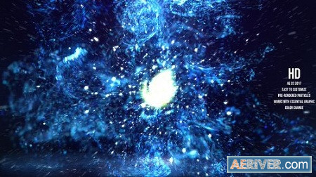 Fluid Particles Reveal 23117166 After Effects Project Download Videohive