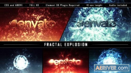 Fractal Explosion 9056933 After Effects Project Download Videohive