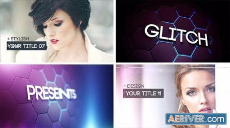Videohive Glitch Slideshow 2 8471785 After Effects Project