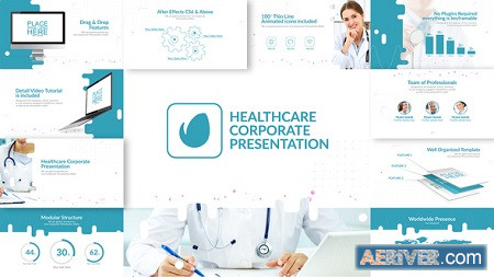 Healthcare Corporate Presentation 23093513 After Effects Project