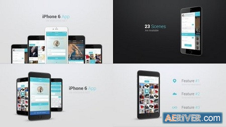 Iphone 6 App Presentation Kit 10895277 After Effects Project Download