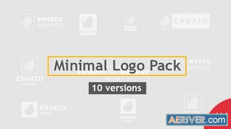 Minimal Logo Pack 10 Versions 20479756 After Effects Project Download
